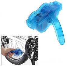 Bike Bicycle Chain Cleaner Machine Brushes Scrubber Clean Tools