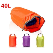 40L Portable Waterproof Bag Storage Dry Bag For Camping Hiking Travel Canoe Kayaking Rafting