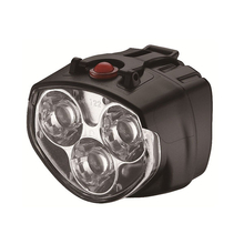 3 LED 2 Mode Bicycle Front Light Bike Flashlight with Bicycle Clamp