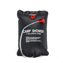 20L Outdoor Portable Water Bath Bag Camping Shower Bag