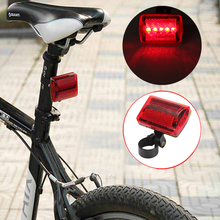 5 LED Bike Tail Light Bicycle Red Flash Light Rear Lamp 7 Mode