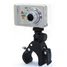ABS PVC Bike Bicycle Handlebar Mount Holder Bracket For Camera DC DV