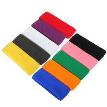 Headband Sweatbands Sports Head Wrap Tennis Badminton Yoga GYM Band