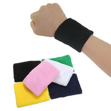 Cotton Wristbands Sweatbands for Basketball Tennis Badminton