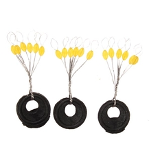 100PCS Yellow Fishing Space Bean Fishing Pin Accessory Tackle