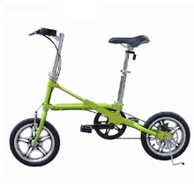 Folding Bike Mini Bicycle 14 Inch Wheel Ultra-light Speed Bicycle