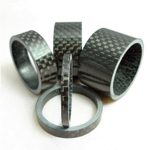 Bicycle Carbon Fiber 3mm x 5mm x 10mm x 15mm x 20mm Headset Spacer