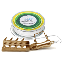 Stainless Steel Fishing Lure Saver Lure Rescue Tackle/30m PE Line