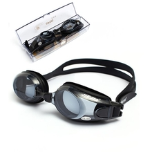 Myopic -1.5 to -8.0 Anti-fog Swimming Goggles  Adjustable UV Swim Glasses