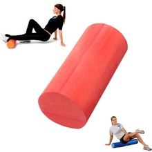 30/45/60x15cm EVA Yoga Fitness Foam Roller Home Gym Massage Smooth