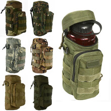 Tactical Outdoor Traveling Utility Water Bottle Bag Pouch