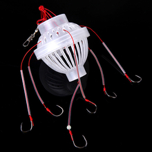 ZANLURE Fishing Tackle Sea Monster with Six Strong Fishing Hooks