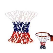 Overstriking Solid Three Color Polypropylene Basketball Net Extended