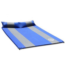 Automatic Double Thick Inflatable Mattress With Pillow Air Bed Nap Mat
