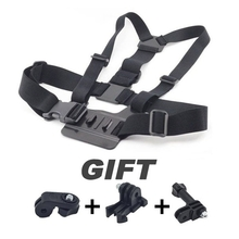 Adjustable Chest Strap Belt Stap Mount for Hero Sports Cameras