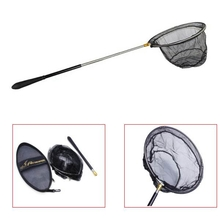 Folding Fishing Nets Portable Stainless Steel Fishing Dip Nets