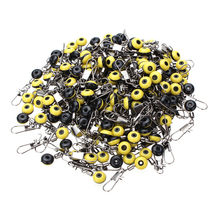 Fishing Medium Yellow Space Beans Fishing Pin Fishing Accessory 200pcs