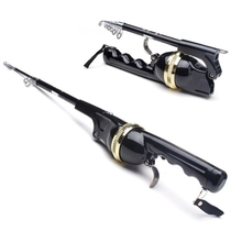 1.6M Folding Telescopic Sea Rods Suit Portable Fishing Poles