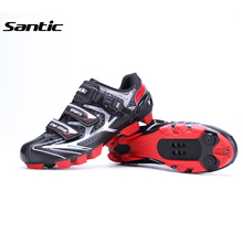 Santic Cycling Shoes MTB Mountain Bike Bicycle shoes Locking Shoes