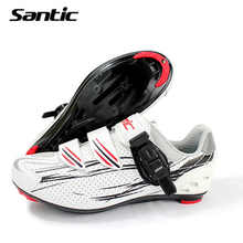 Santic Cycling Shoes Road Bike Bicycle shoes Locking Shoes Sneakers