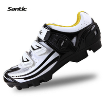 Santic Cycling Bike Bicycle Shoes MTB Mountain Shoes Locking Shoes