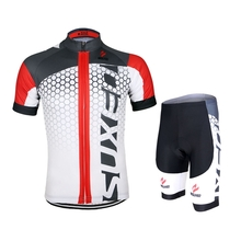 ARSUXEO Men Cycling Jersey Bike Bicycle Short Sleeves Jersey Mountain Bike Clothing Shirts
