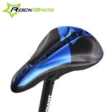 ROCKBROS MTB Bike Cycling Soft Breathable Saddle Bicycle Seat Cushion Cover 3 Colors