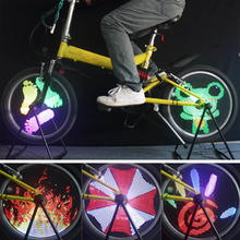 96 RGB LED Bicycle Bike Cycling Wheel Light LED Light Bicycle Spoke Light Bike Lamp