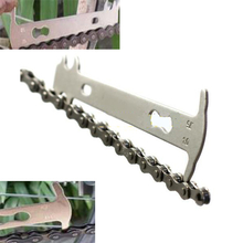 Bike Bicycle Chain Measurement Ruler Chain Tape Cycling Chain Replacement Tool