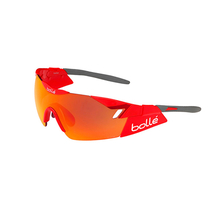Bolle 6th Sense Shiny Red/Grey Sunglasses TNS Fire