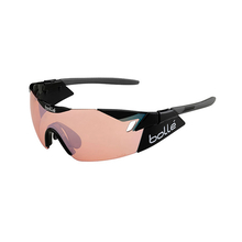 Bolle 6th Sense Shiny Black/Grey Sunglasses Mod Rose Gun