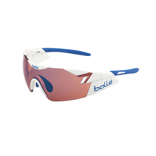 Bolle 6th Sense Shiny White/Blue Sunglasses Rose Blue