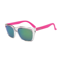 Bolle 527 Matte Crystal Pink Sunglasses Brown Emerald