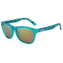 Bolle 473 Matte Turquoise Sunglasses Pol Brown Emerald