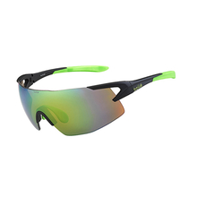 Bolle 5th Element Matte Black/Green Sunglasses Brown Emerald