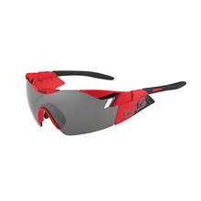 Bolle 6th Sense Matte Red/Black Sunglasses TNS Gun