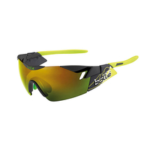 Bolle 6th Sense Matte Smoke/green Sunglasses Brown Emerald
