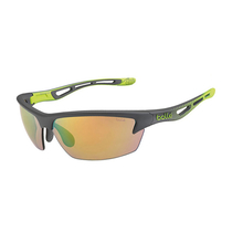 Bolle Bolt S Smoke/Lime Adult Sunglasses TNS Fire