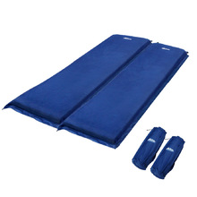 Self inflating Mattress Double 10cm Blue