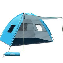 2-4 Person Camping Tent - Blue