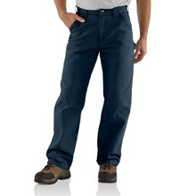 Carhartt Washed Duck Work Dungaree - Petrol