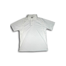 BAS Short Sleeve Cricket Shirt White