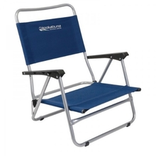 Kookaburra Beach Chair With Arms Blue