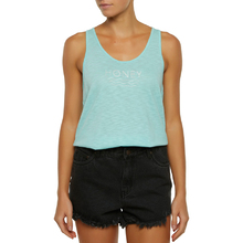 Ocean & Earth Tod Girls Lucky Tank Top - Aqua