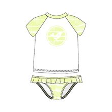 Ocean & Earth Tod Girls Mya Tankini Citrus