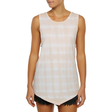 Ocean & Earth Ladies Hippi Heart Tank Top - Salmon