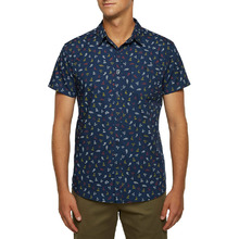 Ocean & Earth Mens Micro Ss Shirt Navy