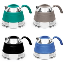 Companion Pop Up Food Grade Silicone and Stainless Compact Kettle