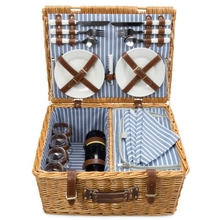 Companion Nautical Picnic Basket for Four