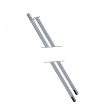 COI Leisure Ridge Poles Square Tube 3 Piece